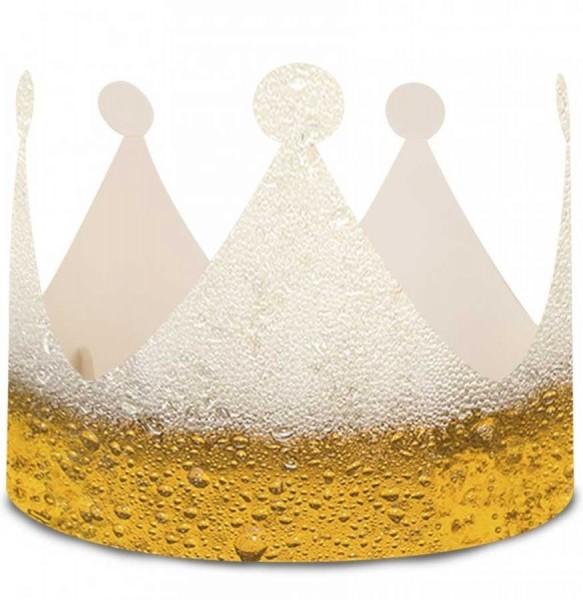 Zabawna korona piwa