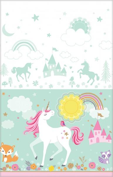 Tablecloth dreamy unicorn 137 x 259cm