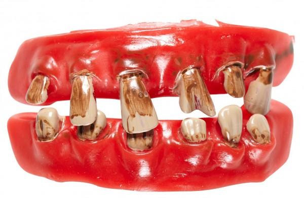 Horror Zombie False Teeth
