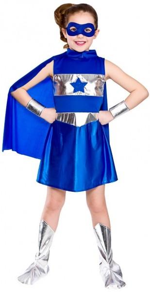 Superhelden Sternchen Kostüm Für Mädchen
