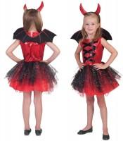 Missi Devil Kostüm Für Mädchen Rot