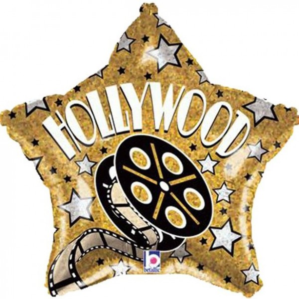 Hollywood Sternchen Folienballon 48cm