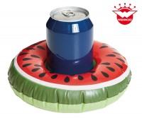 Aufblasbarer Getränkehalter Melone 19x19x6cm