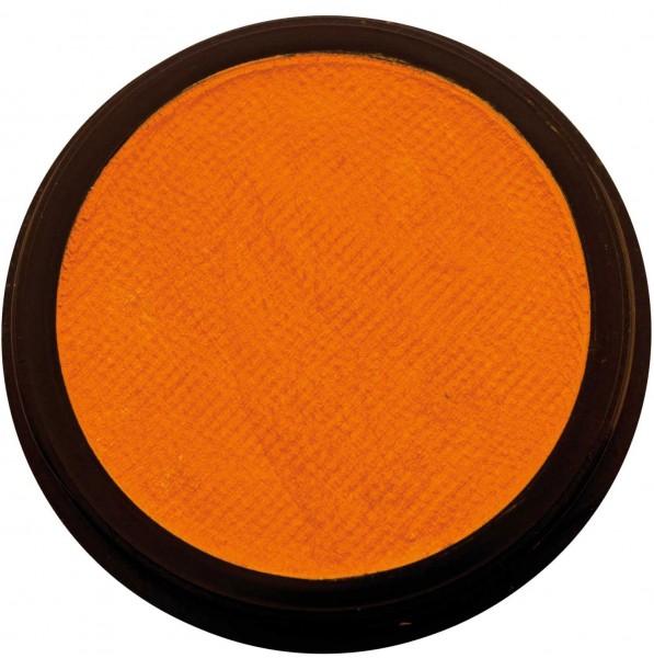 Orangefarbene Profi Aqua Schminke 20ml