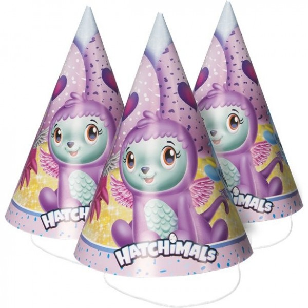 8 hatchimals party hats