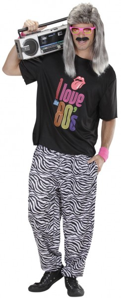 80 Jahre New Kids Turbo Zebrahose