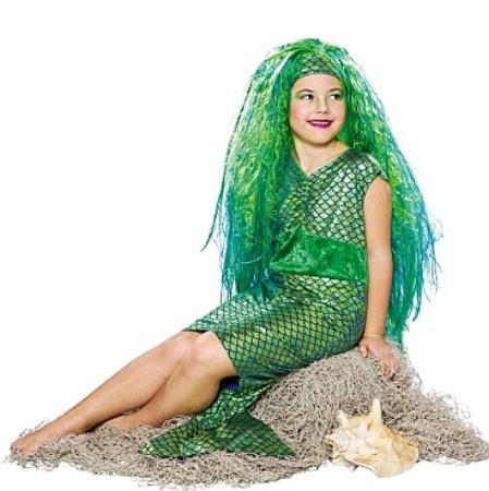 Nixie Grünes Meerjungfrauenkostüm Für Kinder
