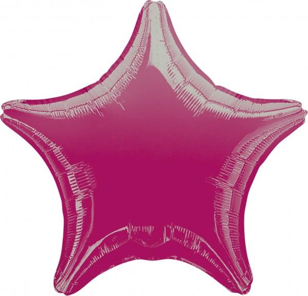 Sparkling Star Ballon fuchsia
