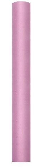 Tulle su rotolo rosa 50cm x 9m