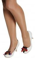 Weiße Matrosen Schuhclips