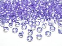 100 Streudeko Diamanten lavendel 1,2cm