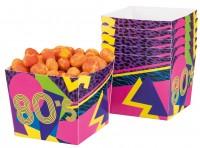 6 Schrille 80er Jahre Snack Boxen