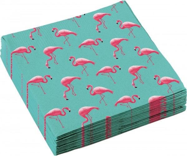 20 Servietten Flamingo Paradise 33cm