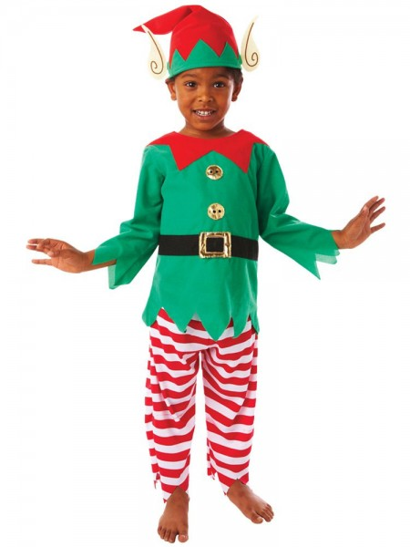 Déguisement lutin de Noël lutin enfant