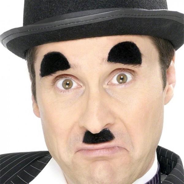 Charlie Chaplin Bart & Augenbraune