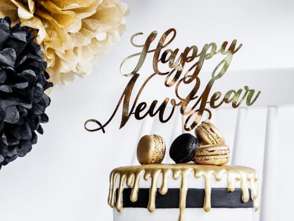 VIP New Year cake decoration 24cm