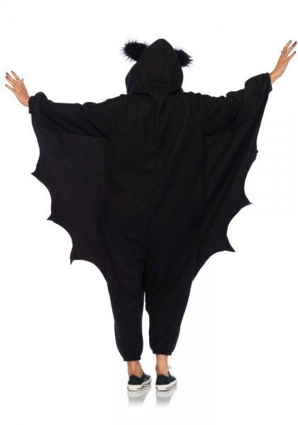 Bat fleece costume