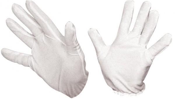 Costume Gloves White