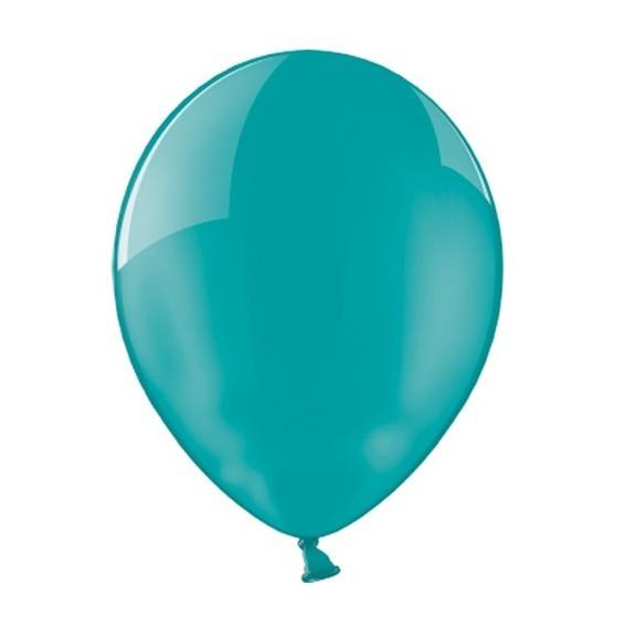 100 Petrolblaue Premium Luftballons 25cm
