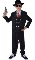 Mafia Boss Anzug Kostüm Für Kinder