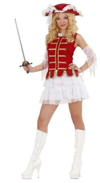 Musketier Lady Aramis Damenkostüm