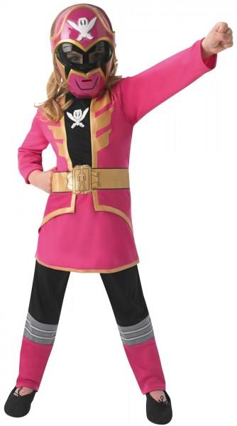 Pinkes Power Ranger Kostüm Für Mädchen