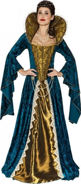 Königin Kleid Mit Reifrock