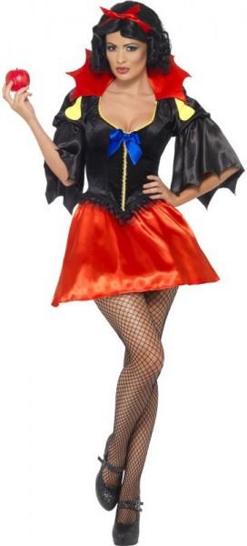 Halloween Horrorwittchen Fledermaus Sexy