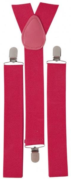 Pinke Stylische Hosenträger