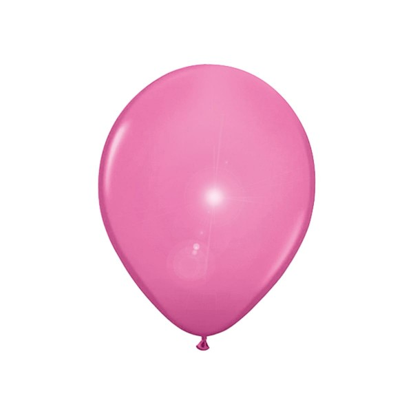 5 LED Luftballons in Pink