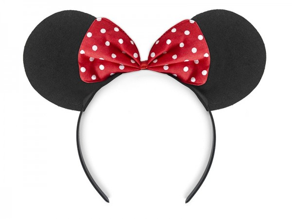 Little mouse headband with bow