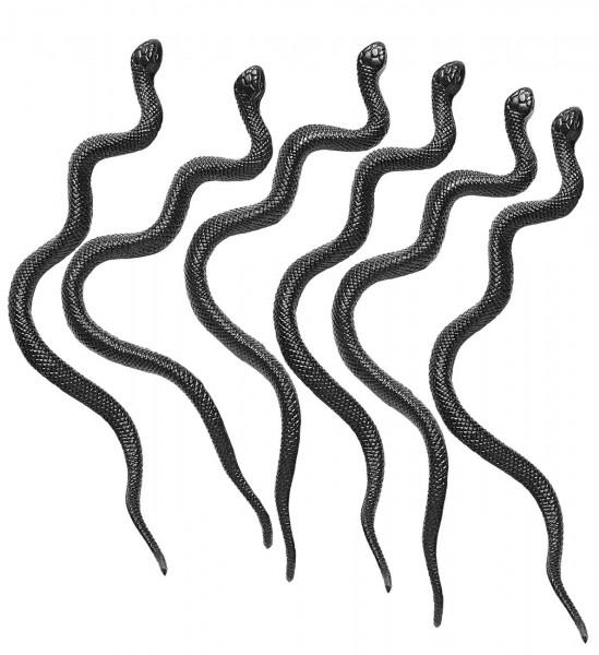 12 pełzających węży Halloween 12,5 cm