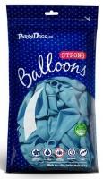 10 Partystar Luftballons pastellblau 30cm