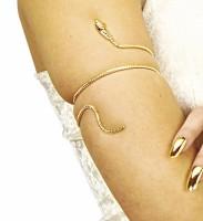 Ägyptisches Schlangen Armband Gold