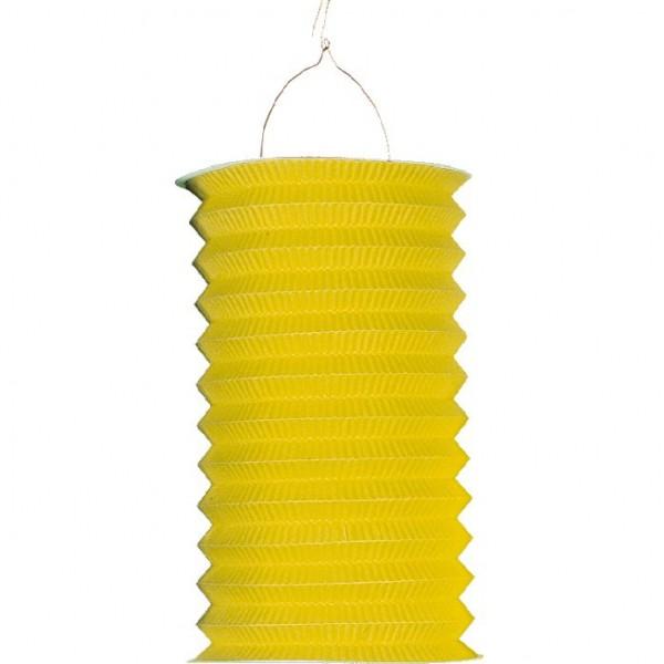 Solid Color Paper Lantern Autumn Blossom Yellow 28cm