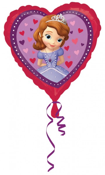 Herzballon Verliebte Sofia die Erste