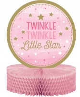 Twinkle Pink Star Aufsteller 31cm