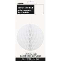 Deko Wabenball Honey Weiß 20cm