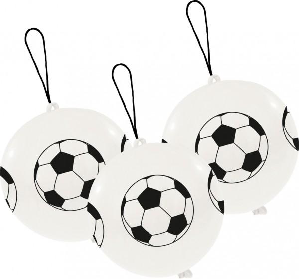 Set de 3 bolas de fútbol