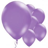 10 Lila Luftballons Passion 28cm