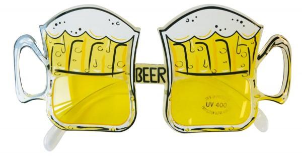 Transparente Bierfest Brille