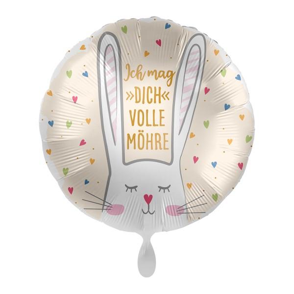Ich mag dich volle Möhre Ballon 43cm