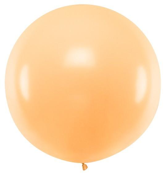 XXL Ballon Partyriese apricot 1m