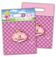 6 Prinzessinnen Geschenktüten