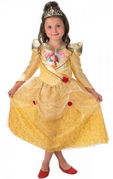 Gelbes Belle Shimmer Kinderkostüm