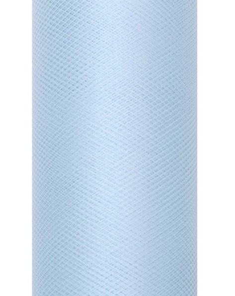 Tela de tul Luna azul pastel 20m x 8cm
