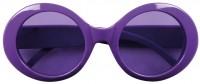 Lunettes néon vintage violettes