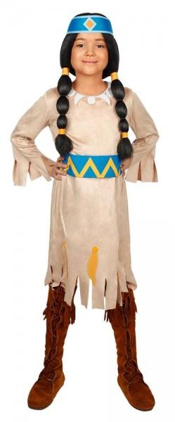 Rainbow Indian costume