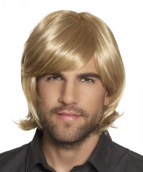 Blonde 70s wig Ralf