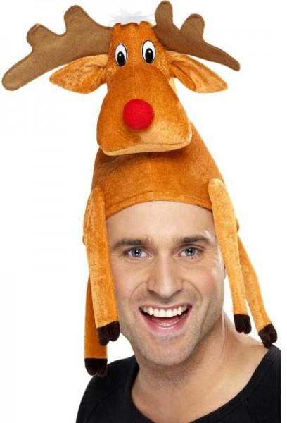 Sombrero de reno marrón